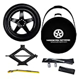 Complete Compact Spare Tire Kit w/Carrying Case - Fits 2006-2018 (5th & 6th Gen) BMW 3 Series - Modern Spare