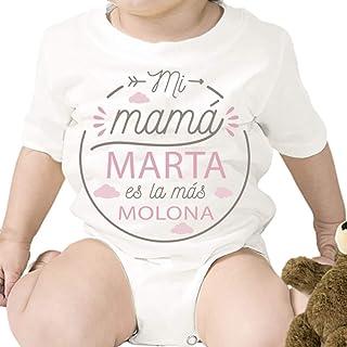 Regalo personalizado: body para bebé ' Mamá Molona' personalizado con parentesco y nombre