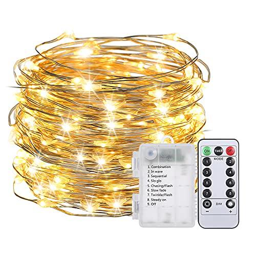 Fesjoy Luz de Escritorio LED, Lupa Lupa con 64 LED Lámpara de Mesa con luz de Escritorio Aumento de 8 aumentos 10 Niveles Brillo Ajustable Regulable 3 Colores Cambio de Temperatura Funciona con USB
