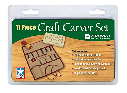 FLEXCUT Carving Tools Craft Carver Set