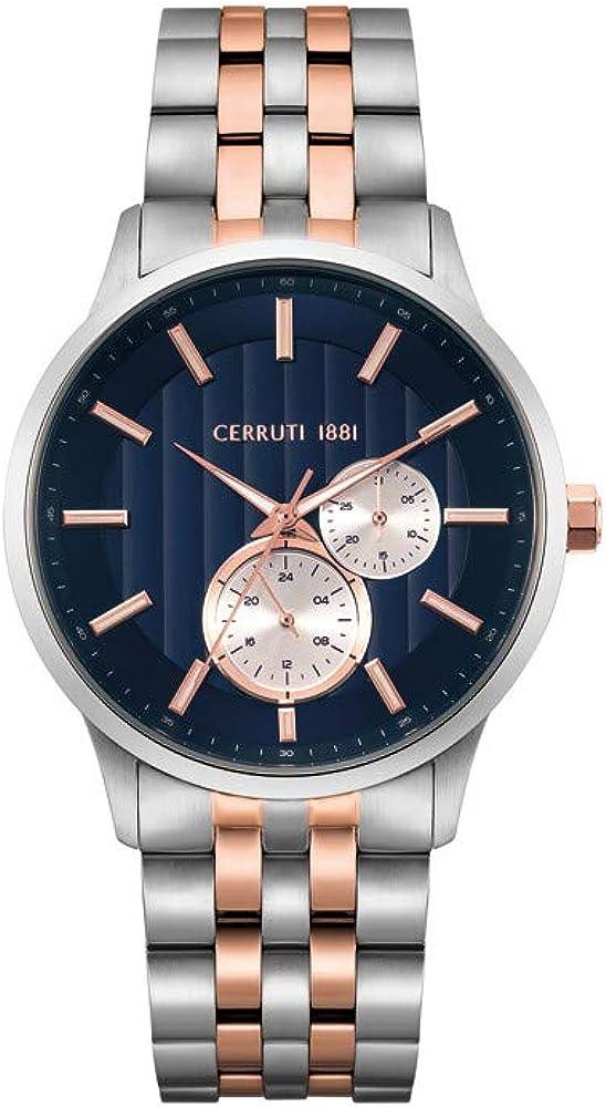 Cerruti 1881,orologio per uomo,in acciaio inossidabile CRA20807