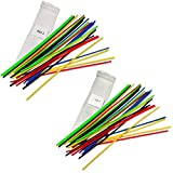 3d Pen filament refill straight plastic, strands, sticks. 5 colors of ABS 3mm and 5 Colors of PLA 3mm - 50 stands, Any 3d pen using 3 mm Filament