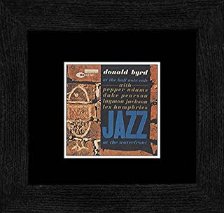 Stick It On Your Wall Donald Byrd - Jazz at The Waterfront 1960 Framed Mini Poster - 18x18cm