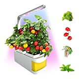 Sucastle Hydroponic Indoor Herb Garden Kit Smart Multi-Function Growing Led Lamp for Flower Vegetable Cultivation Plant Growth Light