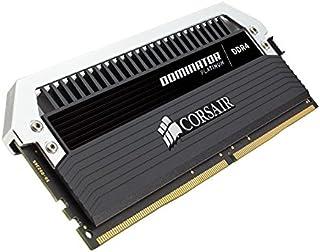 Corsair Dominator Platinum Módulo de Memoria XMP 2.0 de Alto Rendimiento de 16 GB, 2 x 8 GB, DDR4, 3600 MHz, C18, con Ventilador Dominator Airflow RGB LED, Negro