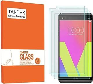 واقي شاشة LG V20 ، TANTEK المضادة للفقاعات ، HD فائق الوضوح ، مقاوم للخدش ، واقي شاشة من الزجاج المقسى الممتاز لـ LG V20 ،...