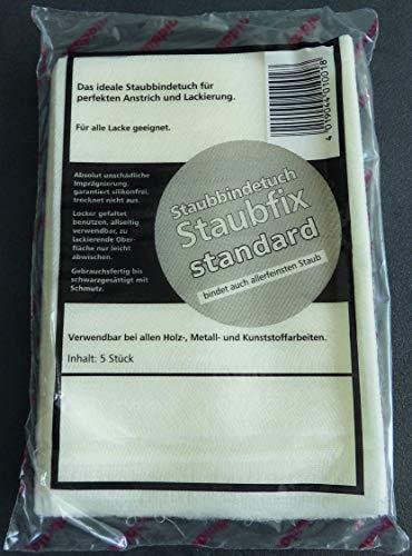 Staubbindetuch Staubfix Standard I Staubtuch für alle Lacke geeignet I Wasserbasislack, Autolack, Effektlack I 80 x 50 cm I 20 x 5 Stück (100 Stück)