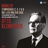 Mahler: Symphonies 2, 4, 7 & 9 / Das Lied von der Erde - G. Mahler, Otto Klemperer, Philharmonia Orchestra, New Philharmonia Orchestra
