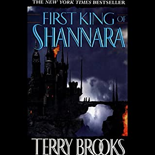 The First King of Shannara audiobook cover art