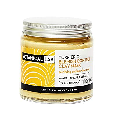 Botanical Lab Turmeric Blemish treatment Clay Mask 100ml [PACKAGING MAY VARY] from Karium