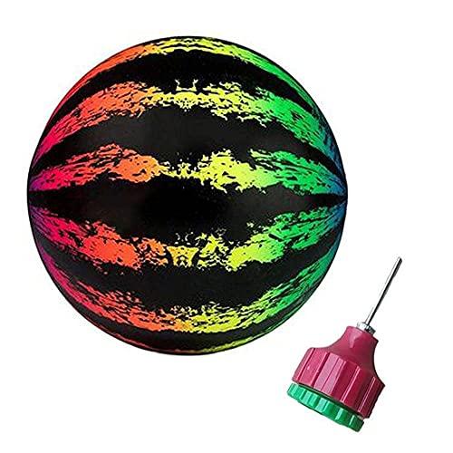 N/S Pelota de waterpolo para piscina   Pelota de juego para niños para playa y piscina   Pelota subacuática de sandía gran elección para fiestas en la piscina (color)
