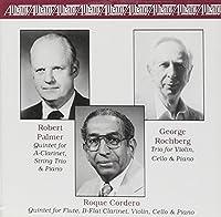 Rochberg, Cordero and Palmer: Trio / Violin Cello & Piano (1995-12-01)