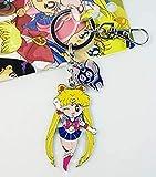 SAILORMOON - PORTE CLES SAILOR MOON Sailormoon + Luna