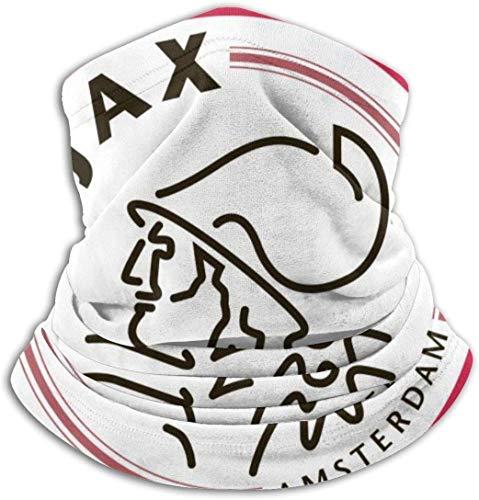 ZVEZVI Ajax Amsterdam Schal Halswärmer Unisex Halswärmer Gamasche , Komfortable atmungsaktive Bewegung Warm halten, weiche Mikrofaser Kopfbedeckung Gesicht Schal Mas-k