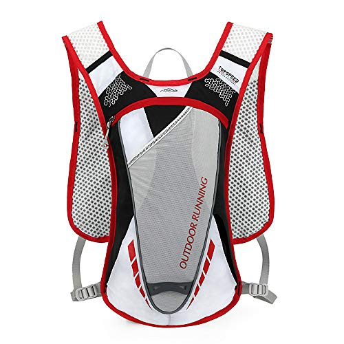 Lixada 5L Hydration Pack Backpack with 2L Water Bladder Ultralight Breathable Hydration Vest For Outdoors Running Cycling Climbing