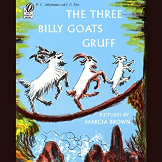 The Three Billy Goats Gruff cover art