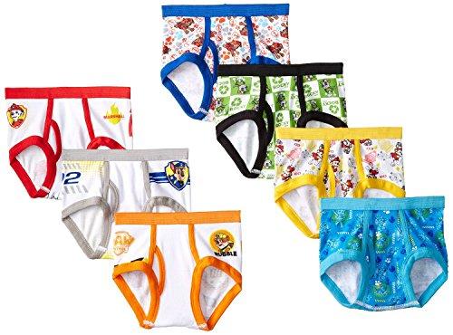 Paw Patrol Toddler Boys 7 Pack Underwear Briefs (2t/3t)