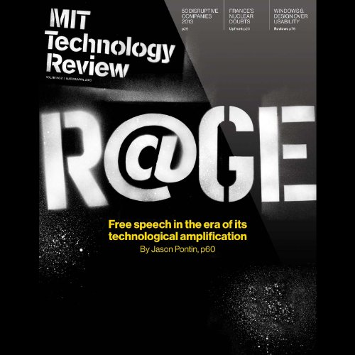 Audible Technology Review, March 2013 audiobook cover art