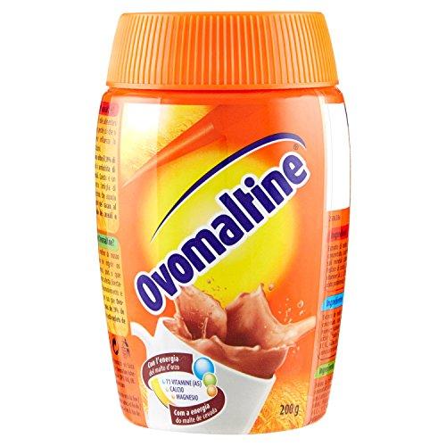 Ovomaltine - Preparato solubile per bevanda, L'energia naturale del malto d'orzo - 4 pezzi da 200 g [800 g]