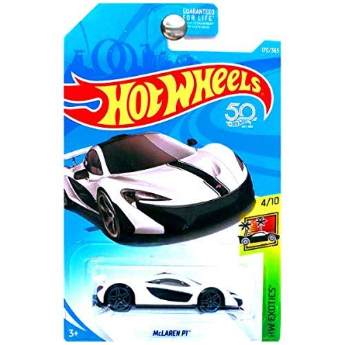 Hot Wheels 2018 50th Anniversary HW Exotics McLaren P1 170/365, White