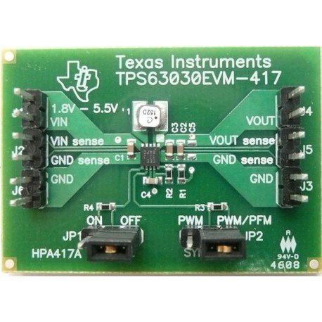 NEW before selling Power Management IC Development Super Special SALE held Eval Mod Tools TPS63030EVM-417