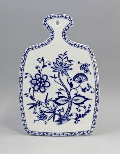 Brotzeitplatte porcelaine-motif: fleurs d'oignon