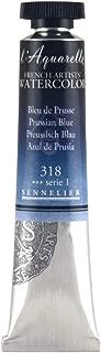 Sennelier L'Aquarelle French Watercolor, 21ml Tube, S1 Prussian Blue