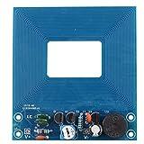 HALJIA Metal detector Módulo 5 V Non – Contacto detección módulo buzzer de sensor de metal ajustable