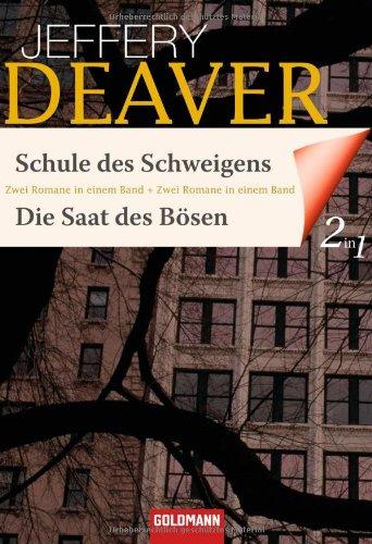 Schule des Schweigens / Die Saat des Bösen: Zwei Romane in einem Band