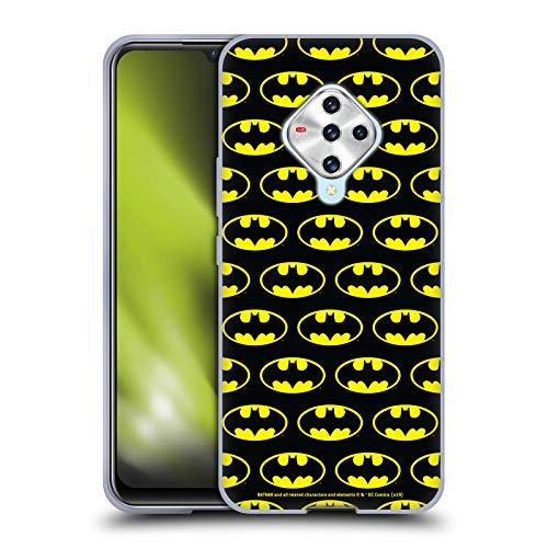 Head Case Designs sous Licence Officielle Batman DC Comics Modèles Logos Coque en Gel Doux Compatible avec Vivo X50e 5G
