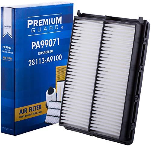 PG Air Filter PA99071| Fits 2016-20 Kia Sorento, 2015-20 Sedona, 2020 Telluride, 2017-18 Hyundai Santa Fe Sport