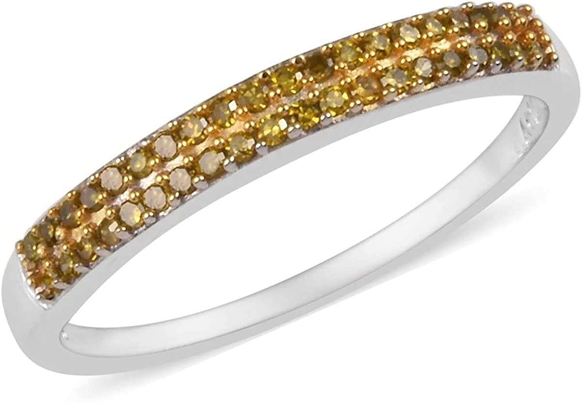 Shop LC Genuine Diamond Max 49% OFF Band Ring Platinum Silver 925 Surprise price Sterling P