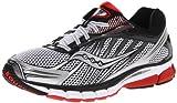 Saucony Men's Ride 6 Running Shoe,White/Red/Black,11.5 M US
