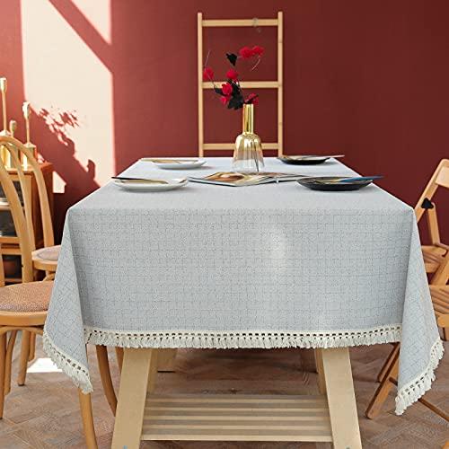 sans_marque Manteles, tableros de mesa, textiles para el hogar, elegantes manteles bordados, modernas cubiertas de mesa antiguas, manteles de lujo 100*160cm