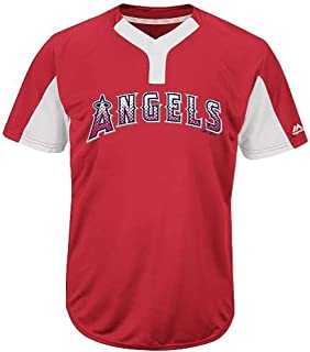 Los Angeles Blank or Custom Back (Name/#) 2-Button Cool Base Jersey