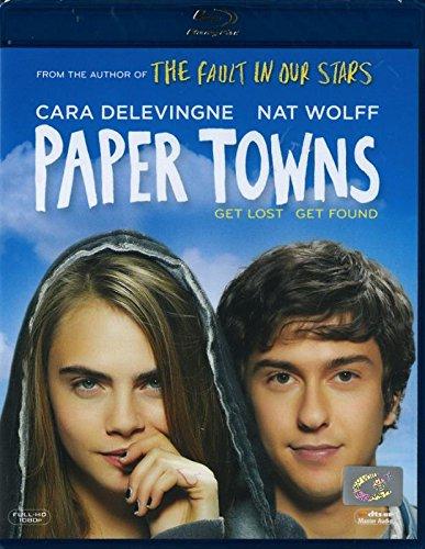 Paper Towns (Blu-ray) Nat Wolff, Cara Delevingne, Halston Sage, Cara Buono Brand New Factory Sealed
