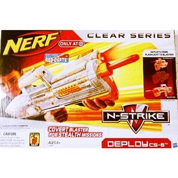 Nerf N-Strike Clear Series  Deploy CS-6