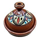 Ameublement Etnico Tajine 1801201006 Casserole Terre cuite Plat Marocain 35 cm