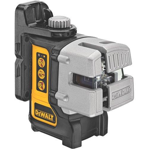 DEWALT Line Laser, Self-Leveling, 3-Beam (DW089K)