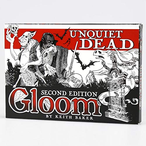Atlas Games ATG01355 - Kartenspiele, Gloom, Unquiet Dead, 2nd Edition