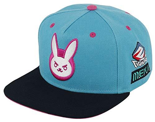 Overwatch D.VA - Bunny Unisex Cap Multicolor one Size