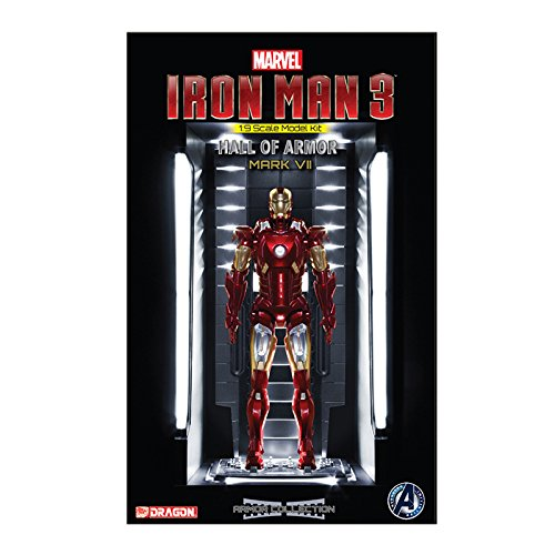 Dragon Action Heroes Echelle 1/9 Iron Man 3 Mkvii Hall d'Armour Modèle kit