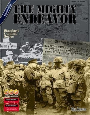 MMP The Mighty Endeavor Board Game, 2nd Edition by MMP Multi-Man Publications