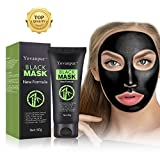 Yovanpur Black Mask, Charcoal Peel Off Mask, Blackhead Remover Mask Deep Cleaing Blackhead Mask for Face Nose 60g (Black mask) (black mask)
