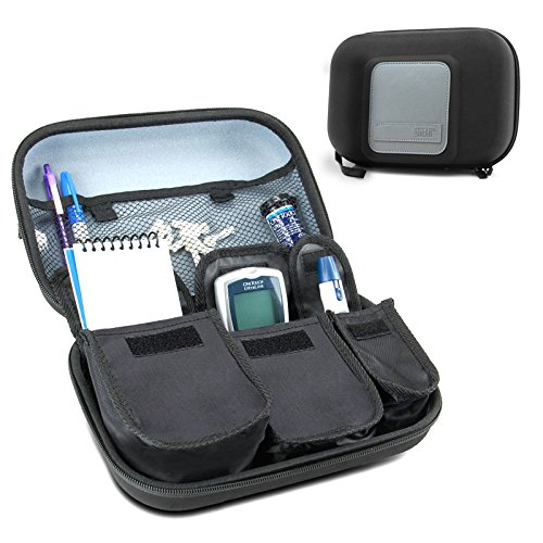 USA Gear Travel Medicine Organizer for Diabetic...