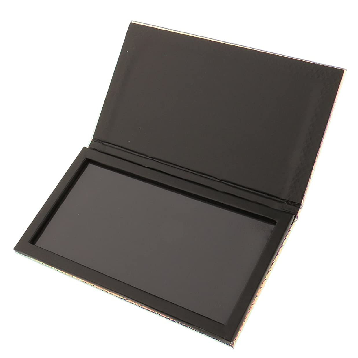 アイスクリーム仲良し欠乏Kesoto 磁気パレットボックス 空の磁気パレット 化粧品ケース メイクアップ コスメ 収納 ボックス 旅行 出張 化粧品DIY 全2サイズ選べ - 18x10cm