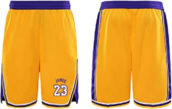 SHORTDOMFOS yellow FOS Provence Basketball Shorts Official Home 2018-2019 Unisex unisex