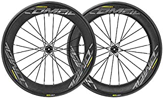Mavic 2017 Comete Pro Carbon Clincher Road Bike Wheelset and Tires