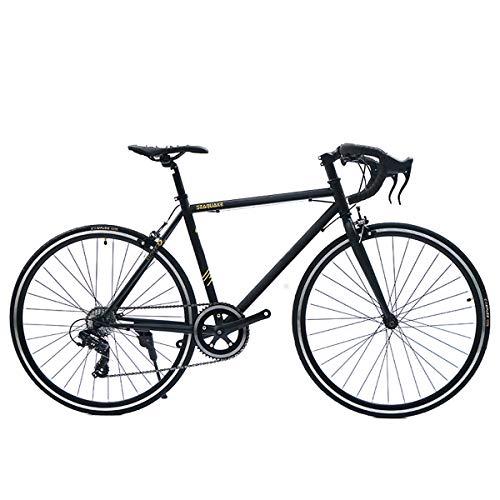 700C Bicicleta De Carretera con Sistema De Cambio Shimano TZ300 8-Velocidad, Freno En V