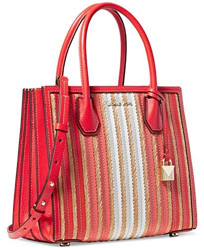 Michael Kors Damen Mercer bag, Rot (ruby), 12x22x27 cm
